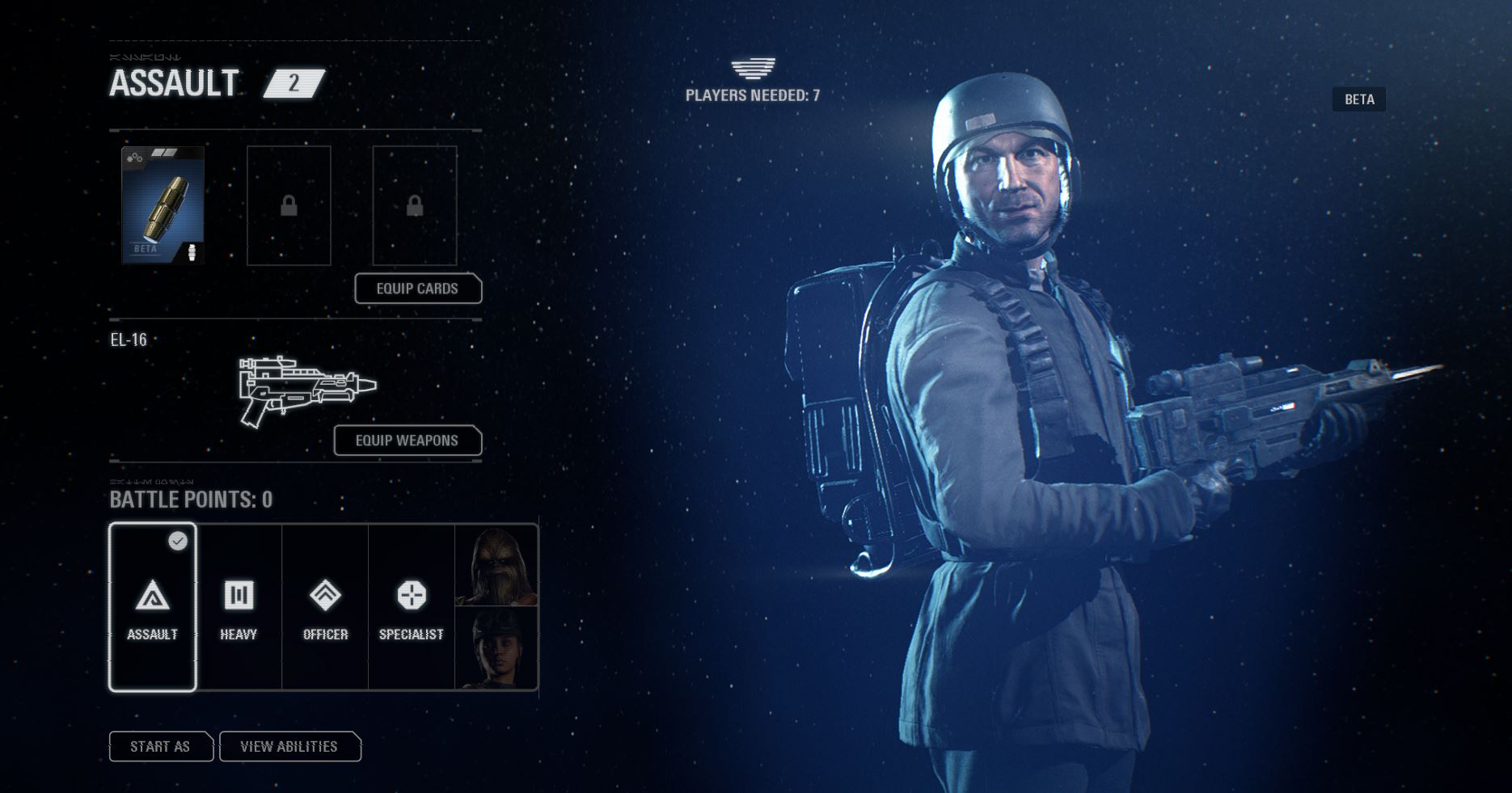 star wars battlefront 2 beta generalites