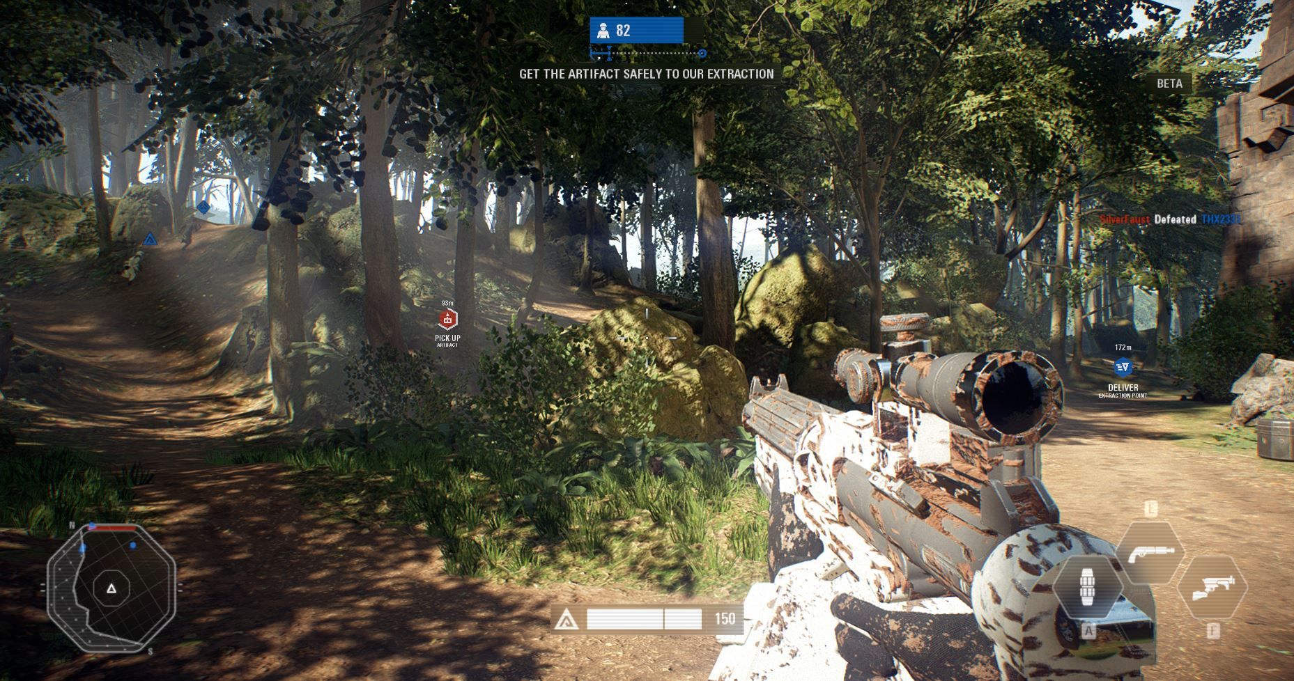 star wars battlefront 2 beta strike mode