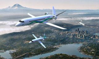 Le premier avion hybride électrique décollera en 2022