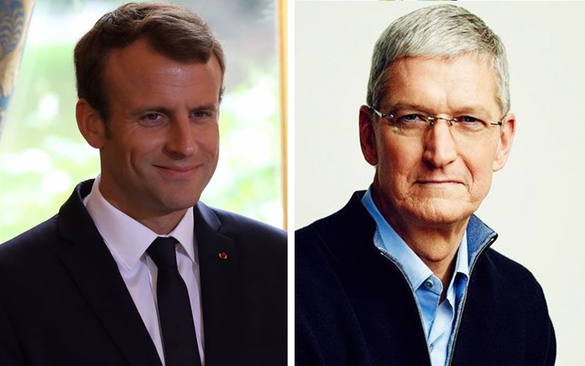 EXCLUSIF. Tim Cook, PDG d'Apple, en visite surprise près de Caen