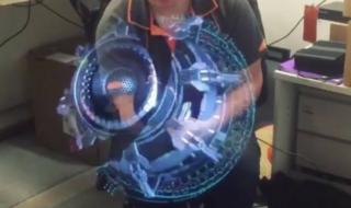 Vidéo : ce ventilateur incroyable projette des hologrammes comme dans Star Wars