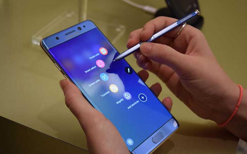 galaxy note 8 smartphone haut de gamme