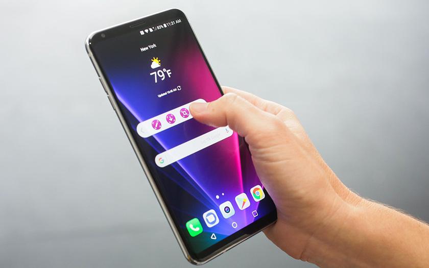 LG V30 smartphone haut de gamme
