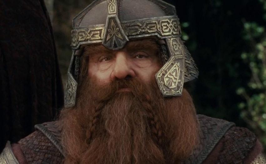 Seigneur des anneaux la s rie gimli john rhys davies d teste compl tement cette id e - Tatouage seigneur des anneaux ...