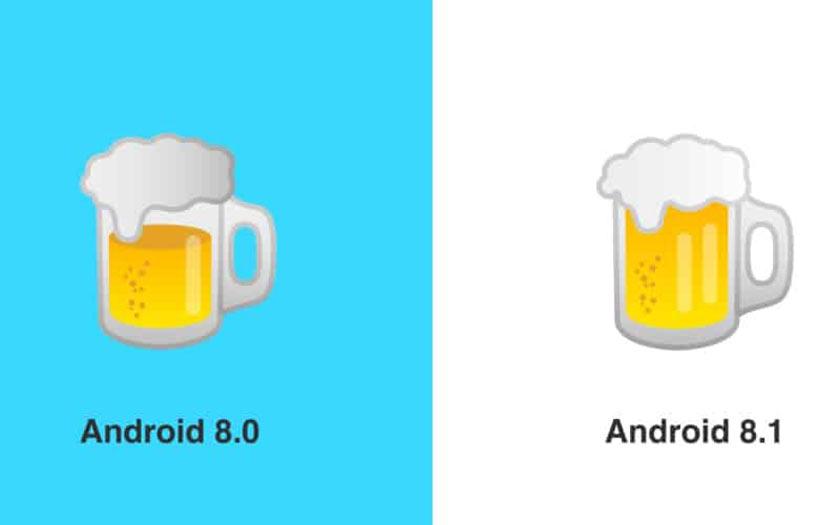 Biere emoji Google