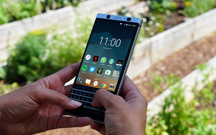 blackberry keyone autonomie