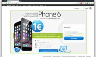 Google Chrome 64 ne vous laissera plus acheter d'iPhone à 1 euro !