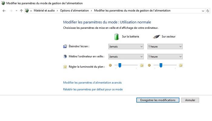 Comment Calibrer et economiser sa batterie sous windows / Cas de windows 10 Desactiver-mise-en-veille