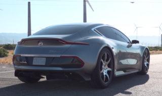 Fisker voiture électrique