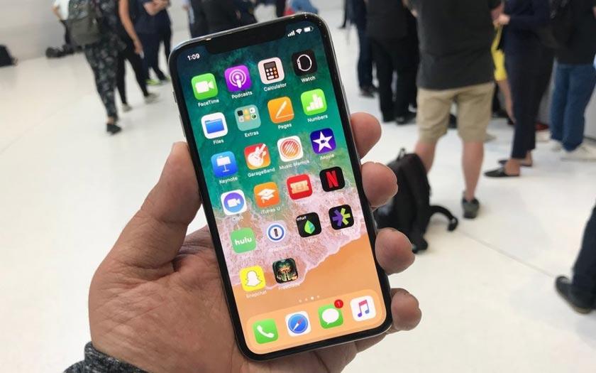L'iPhone X et le froid ne feraient pas bon ménage — Bug tactile