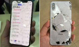 iPhone X cassé : un maladroit l'a déjà fait tomber, en vidéo
