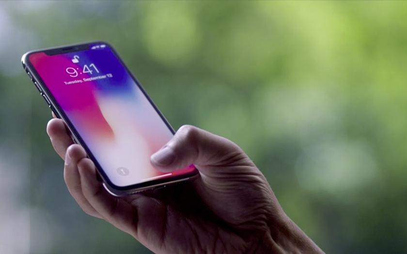 iphone X smartphone haut de gamme