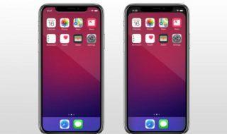 iPhone X : cette application iOS fait disparaître l'encoche de l'écran