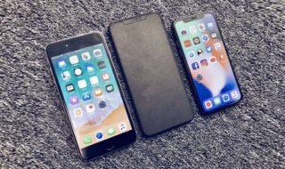 iPhone X Plus 2018 : cette maquette permet de se donner une idée de sa taille