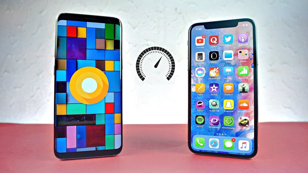 IPHONE VS ANDROID SPEED TEST