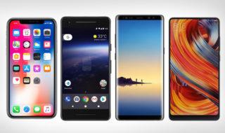 Guide d'achat 2017 : les 9 meilleurs smartphones haut de gamme
