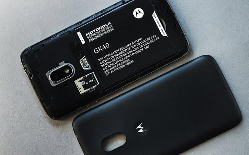 moto G4 Play smartphone batterie amovible