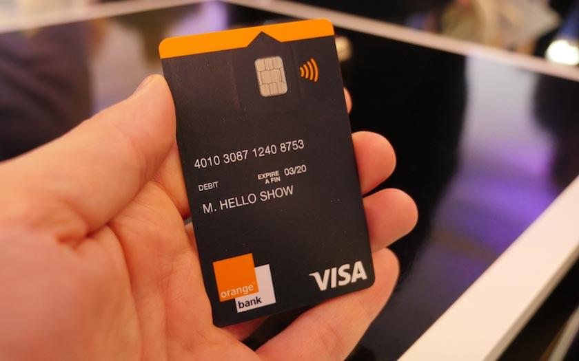 Orange Bank Carte bancaire gratuite