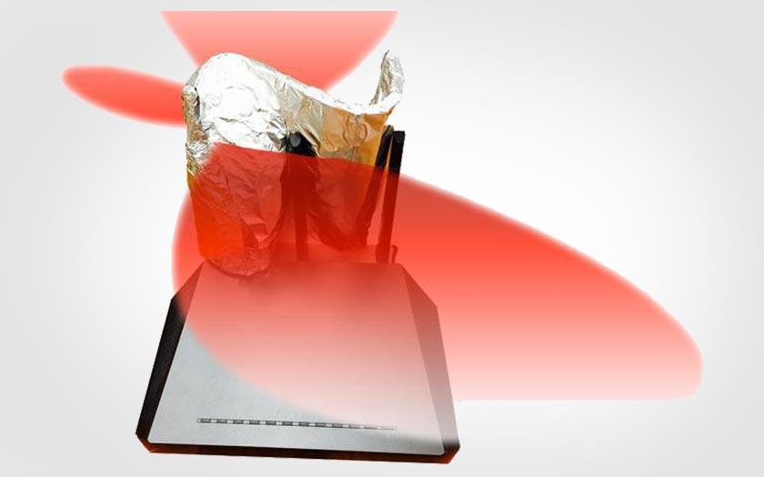 wifi comment du papier aluminium peut am liorer la port e de votre box internet. Black Bedroom Furniture Sets. Home Design Ideas