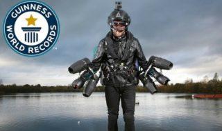 Vidéo : le record du monde de vitesse en Jetpack a été battu !
