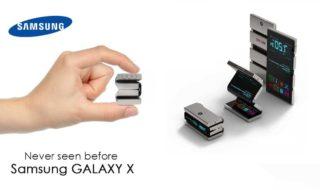 Samsung Galaxy X : le lancement imminent du smartphone pliable confirmé par une page d'aide ?