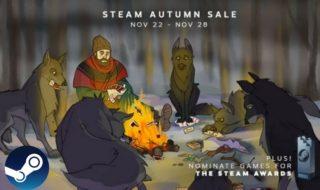 Soldes Steam d'automne 2017 : notre sélection des meilleurs jeux vidéo en promo !