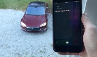 Tesla intègre Siri : contrôlez votre voiture comme dans K2000, en vidéo