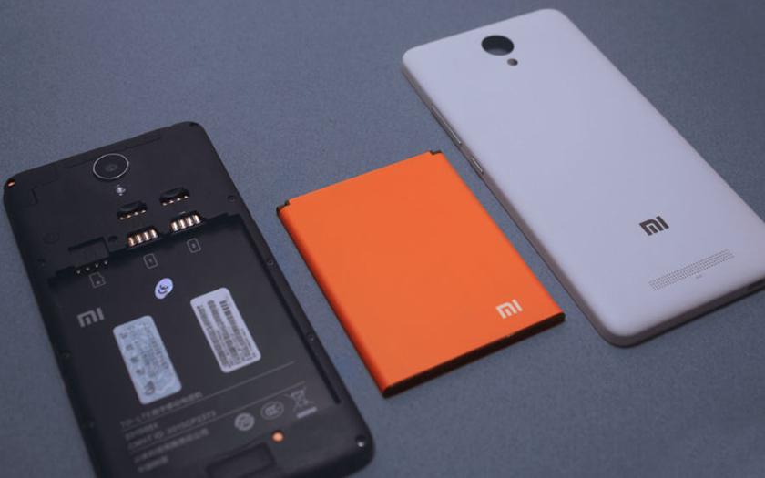redmi 2 smartphone batterie amovible