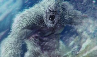 Yeti abominable homme neige