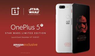 OnePlus 5T Star Wars : cette édition spéciale Les Derniers Jedi est à décrocher la mâchoire !