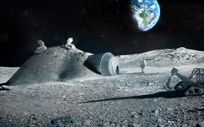 base lunaire