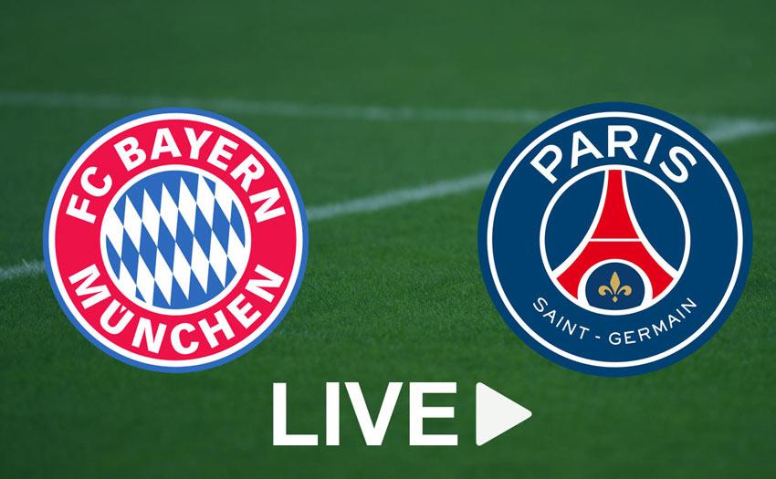 Quelle chaîne pour regarder le match Bayern vs PSG en direct