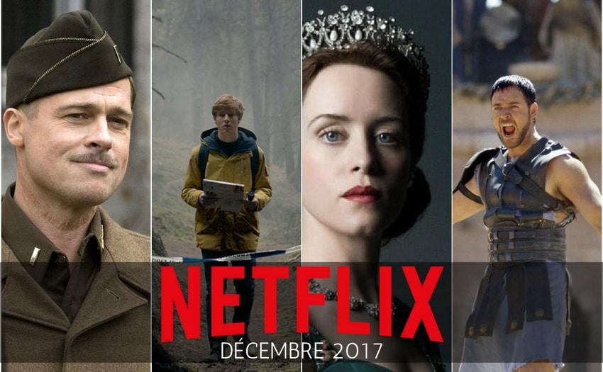 Catalogue Netflix - décembre 2017