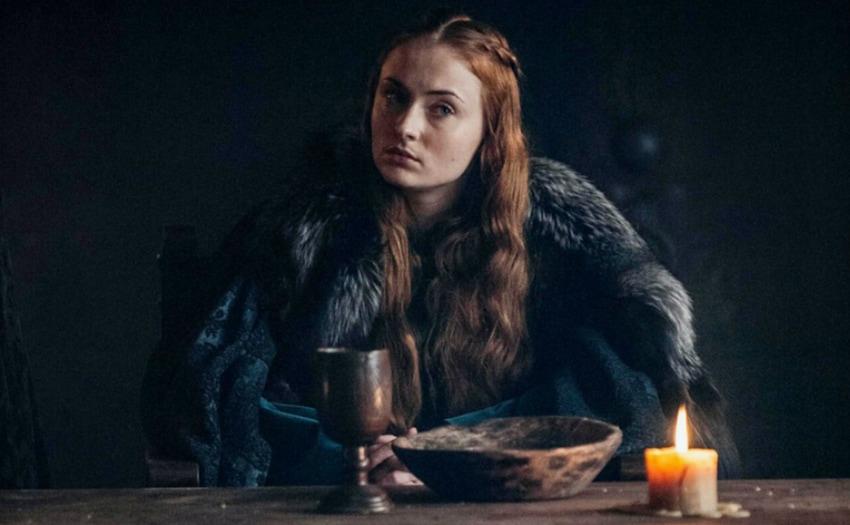 Sophie Turner aka Sansa Stark de Game of Thrones