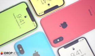iPhone XC : découvrez ce concept d'iPhone X acidulé !