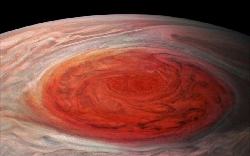Jupiter tache rouge Juno