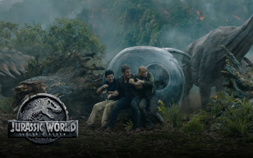 Les coulisses du film spectaculaire — Fallen Kingdom