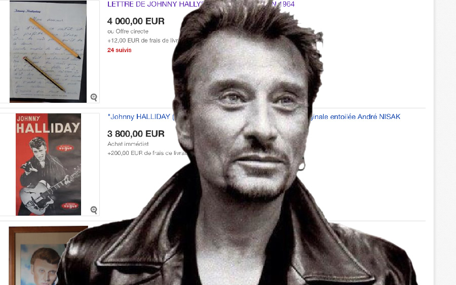 mort de johnny hallyday explosion de petites annonces. Black Bedroom Furniture Sets. Home Design Ideas
