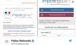 phishing impots gouv