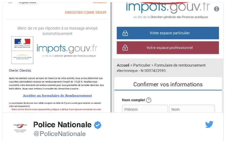 Impots Une Attaque Phishing Sournoise Est En Cours Comment Se