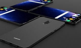 Samsung Galaxy S9 : les dimensions du smartphone révélées par un croquis