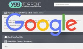 YggTorrent : le site pirate est de retour sur Google