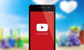 YouTube musique arrière plan