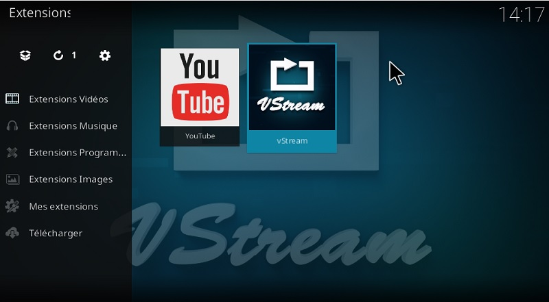 vstream zip