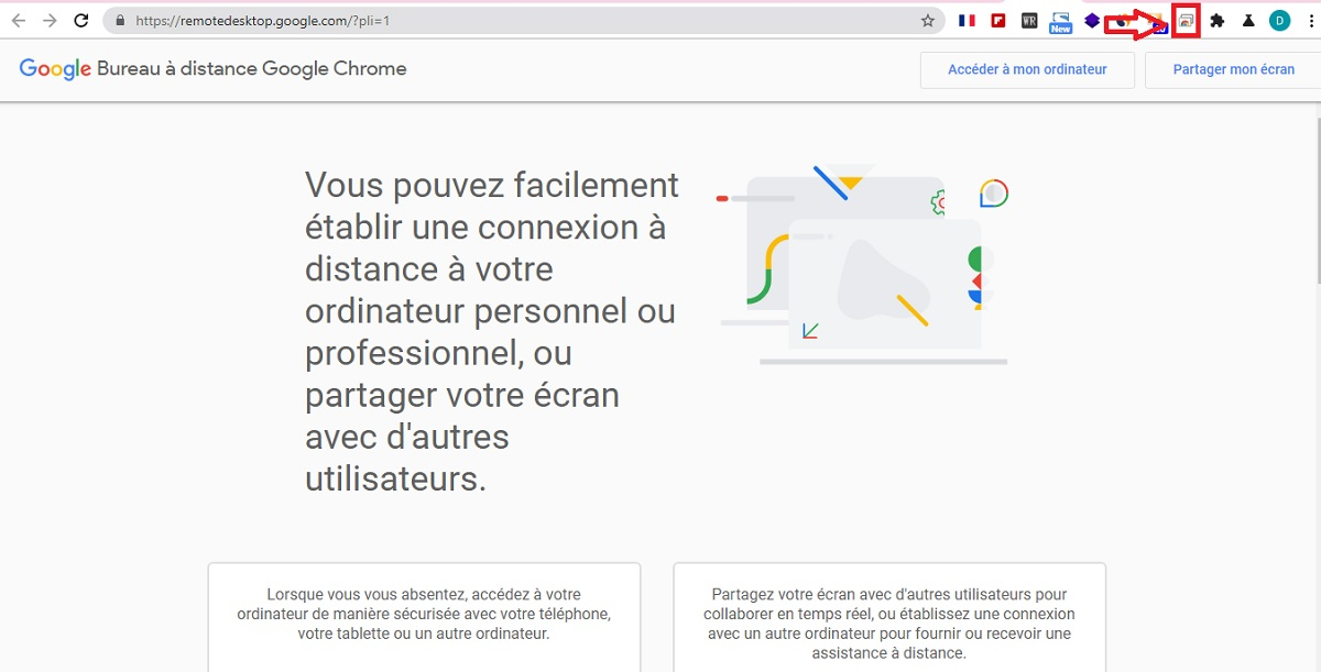 Chrome Remote Dektop