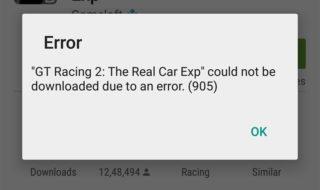 Google Play Store : tous les codes erreur et leurs solutions