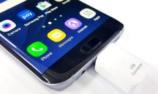 Lire clé USB smartphone Android