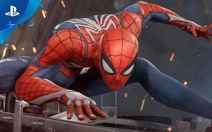 Spider-Man jeu ps4 2018
