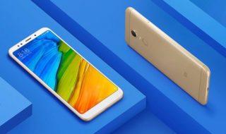 Bon plan : Xiaomi Redmi 5 Plus 64 Go à 161 € et 32 Go à 141 €