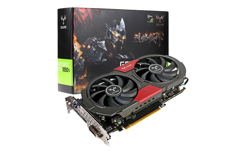 Colorful NVIDIA GeForce GTX iGame 1050Ti à 207.49 €